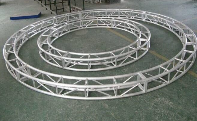 Silver Small Outdoor Aluminum Stage Truss For Exhibition Events T6-6082