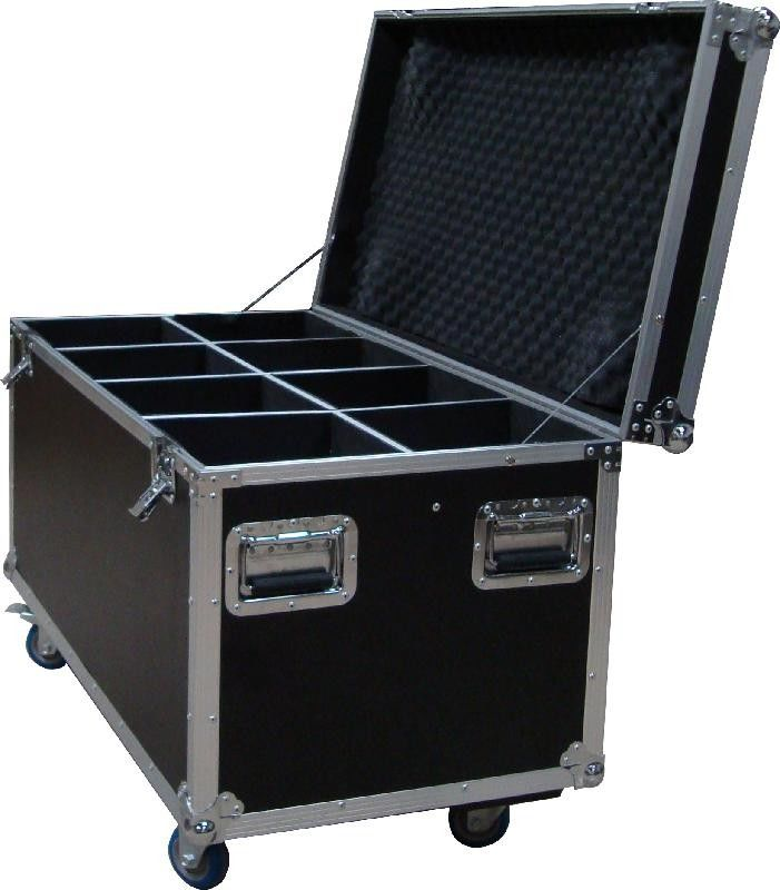 Heavy Duty 20U Standard Rack Flight Case With 9mm Plywood / Trolley Case with Wheels