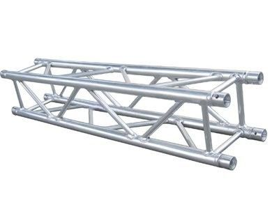 Silver Theatrical Aluminum Spigot Truss Background / Box Truss